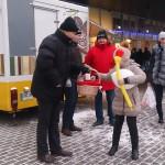 EKRE advendikampaania Tallinnas Pelgurannas