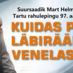 Mart Helme avalik loeng: kuidas pidada läbirääkimisi venelastega?