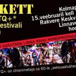 EKRE piketeerib 15. veebruaril Rakveres homoteemalise filmifestivali vastu