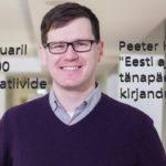 Konservatiivide klubis esineb 25. jaanuaril kirjanik Peeter Helme
