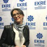 Siiri Sisask kandideerib Eesti Konservatiivse Rahvaerakonna nimekirjas
