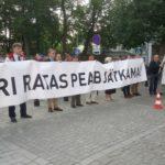 Tule meeleavaldusele Eesti valitsuse toetuseks!